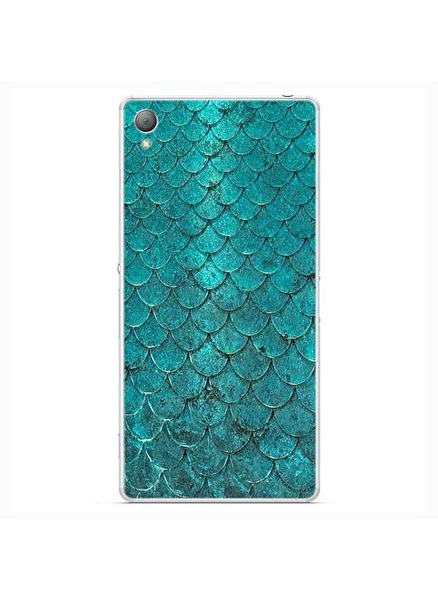 People's Cover Xperia Z3 Kabartmalı Telefon Kılıfı Renkli